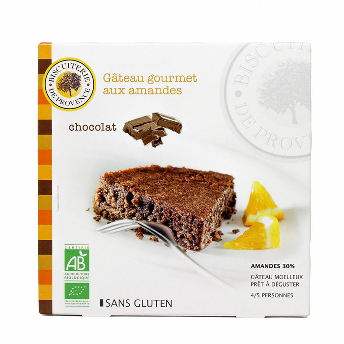 Biscuiterie de Provence Organic Gluten-Free Chocolate Cake, 7.9 oz (225 g)