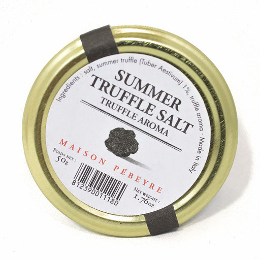 Pebeyre Summer Truffle Salt, 1.76 oz (50 g)