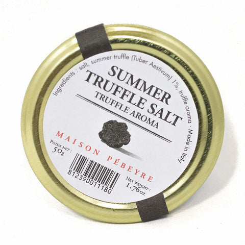 Summer Truffle Salt by Pebeyre 1.76 oz