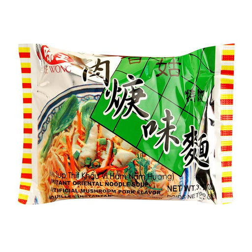 Ve Wong Instant Noodles, Mushroom and Pork Flavor, 3.2 oz (90g)