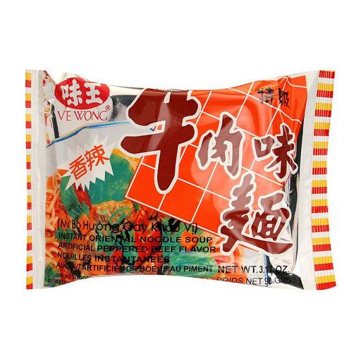 Ve Wong Instant Noodles, Pepper Beef, 3.2 oz (90g)