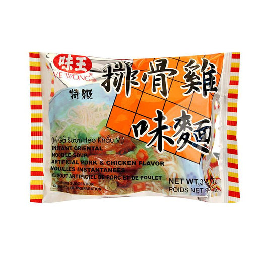Ve Wong Instant Noodles, Pork and Chicken Flavor, 3.2 oz (90g)
