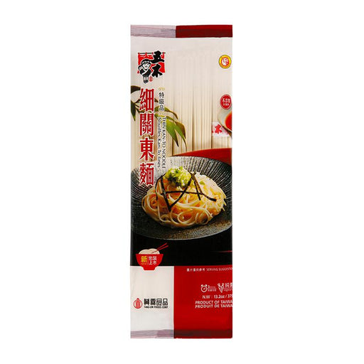Wu-Mu Thin Dry Udon Noodles, Kan To, 13.2 oz (375g)