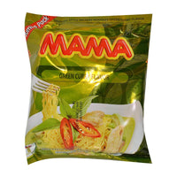 Mama Instant Noodles, Green Curry, 3.2 oz. (91g)
