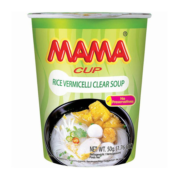 Mama Instant Cup Noodles, Rice Vermicelli , 1.8 oz. (51g)