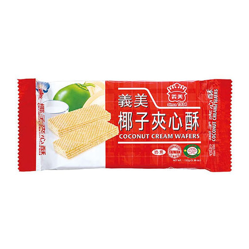 I Mei Cream Wafer, Coconut, 7 oz (200g)