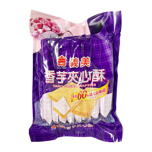 I Mei Cream Wafer, Taro, 14.1 oz (400g)