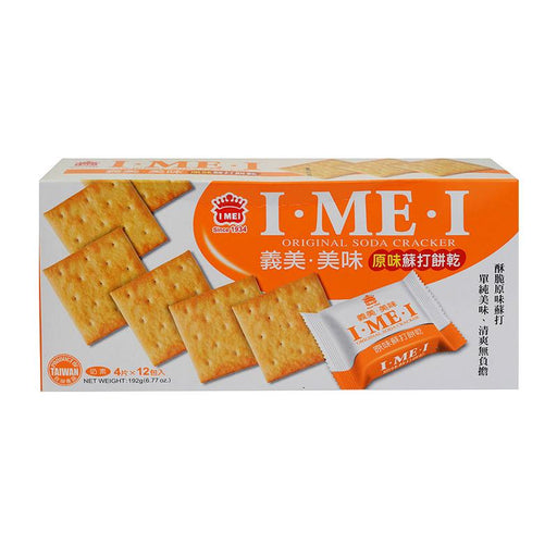 I Mei Soda Cracker, Original Saltines, 6.8 oz (192g)