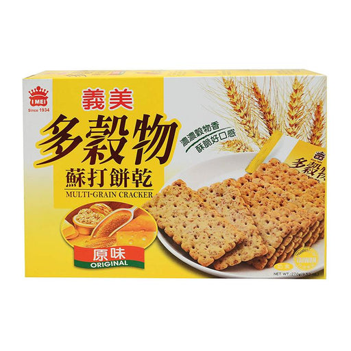I Mei Multigrain Crackers, Original, 9.5 oz (270g)