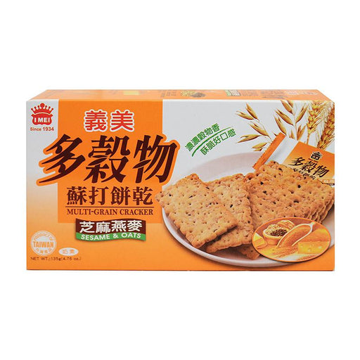I Mei Multigrain Crackers, Sesame and Oats, 4.8 oz (135g)
