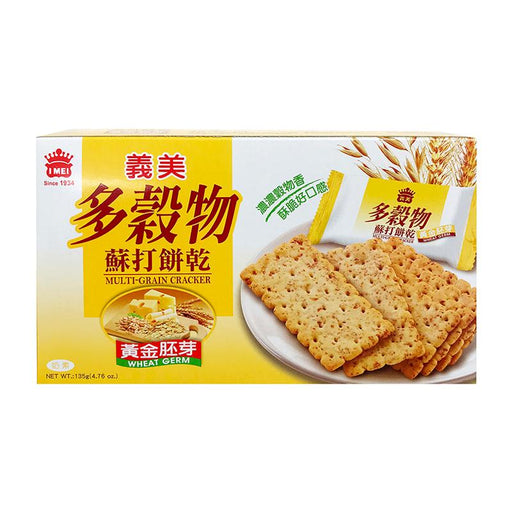 I Mei High Fiber Crackers, 4.7 oz (133g)