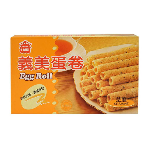 I Mei Egg Roll Butter Cookies, Sesame, 2.1 oz (60g)