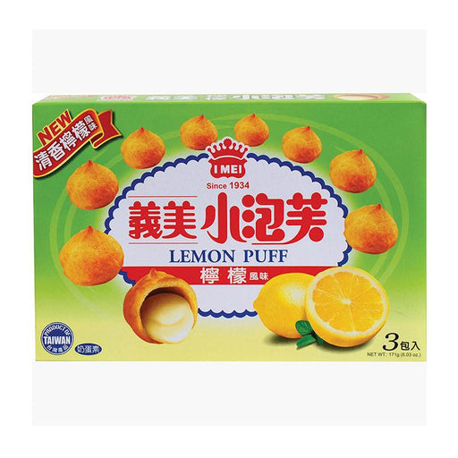 I Mei Lemon Cream Puffs, 6 oz (171g)