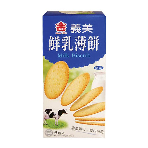 I Mei Milk Biscuit, 4.2 oz (120g)
