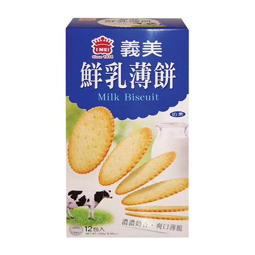 I Mei Milk Biscuit, 8.5 oz (240g)