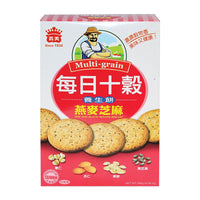 I Mei Multigrain Biscuits, Oats and Black Sesame, 10 oz (266g)