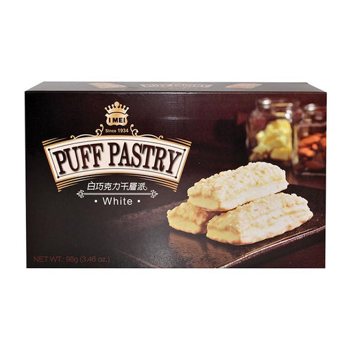 I Mei Puff Pastry Cookie, White Chocolate, 3.5 oz (98g)