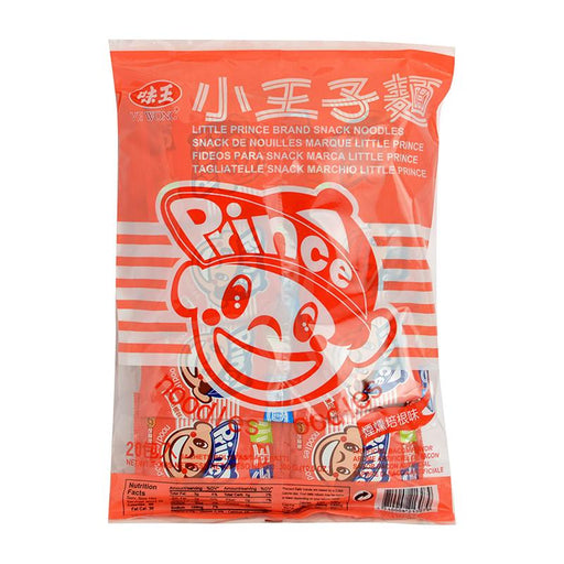 Ve Wong Prince Noodles Ramen Snack, Bacon, 15.5 oz (439g)