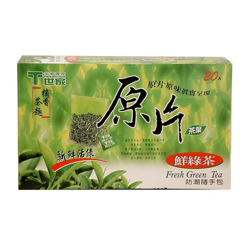 Tradition Green Tea, 20 Tea Bags x 2.8g