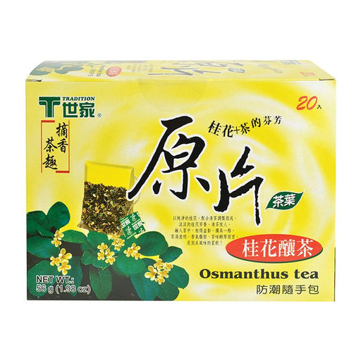 Tradition Osmanthus Tea, 20 Tea Bags x 2.8g