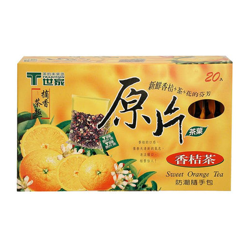 Tradition Sweet Orange Tea, 20 Tea Bags x 2.8g