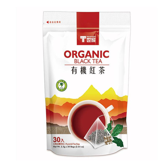 Tradition Organic Black Tea, 30 Tea Bags x 2.5g