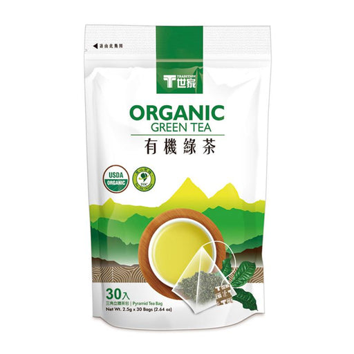 Tradition Organic Green Tea, 30 Tea Bags x 2.5g