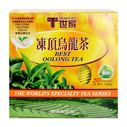 Tradition Oolong Tea, 50 Tea Bags x 2g