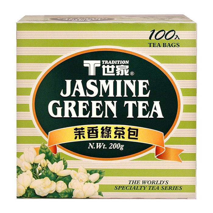 Tradition Jasmine Green Tea, 100 Tea Bags x 2g