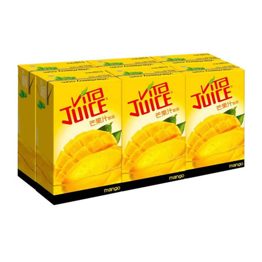 Vita 6-Pack Mango Juice, 8.5 fl oz (250mL) x 6