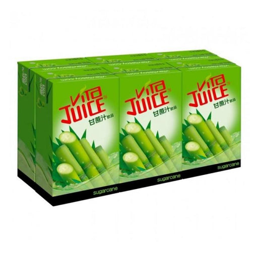 Vita 6-Pack Sugar Cane Drink, 8.5 fl oz (250mL) x 6