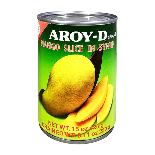 Aroy-d Mango Slices in Syrup, 20 oz (565g)