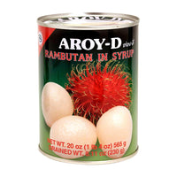 Aroy-d Rambutans in Syrup, 20 oz (565g)