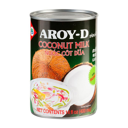 Aroy-d Coconut Milk for Dessert, Coconut Cream, 14 oz (397g)