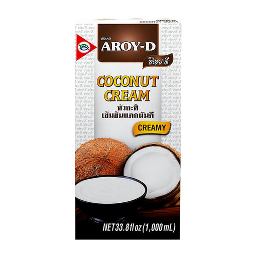 Aroy-d Coconut Cream, 33.8 fl oz (1L)