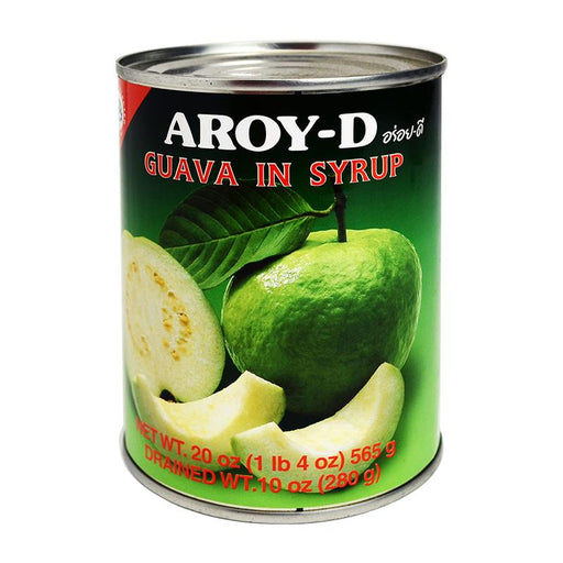 Aroy-d Guava in Syrup, 20 oz (565g)