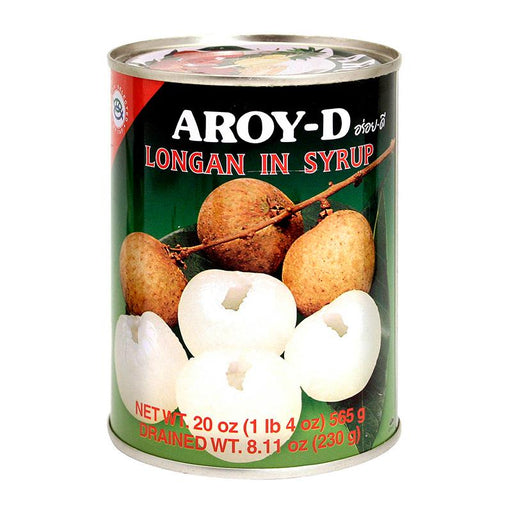 Aroy-d Longan in Syrup, 20 oz (565g)