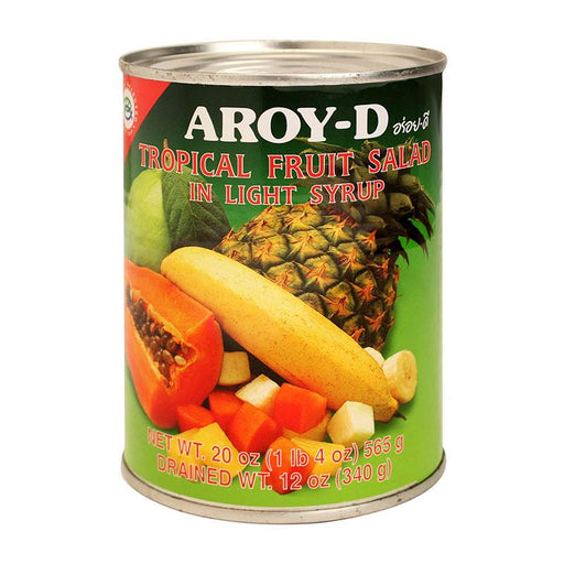 Aroy-d Tropical Fruit Salad in Syrup, 20 oz (565g)