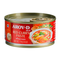 Aroy-d Red Curry Paste, 4 oz (114g)