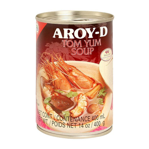Aroy-d Tom Yum Soup, Ready to Eat, 14 oz (197g)