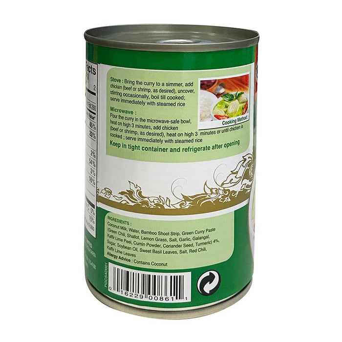 Aroy-d Green Curry Soup, Ready to Eat, 14 oz (197g)