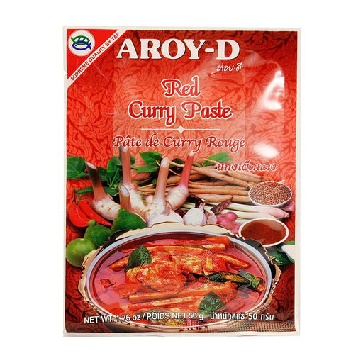 Aroy-d Red Curry Paste, 1.8 oz (50g)
