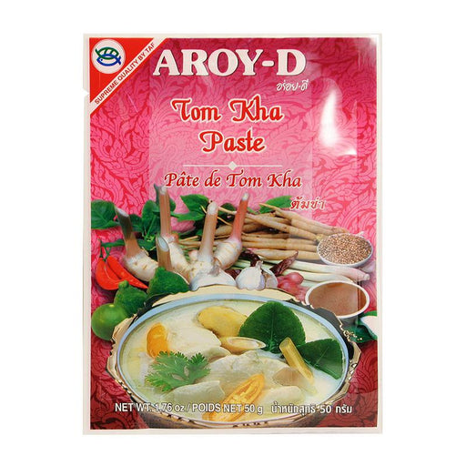Aroy-d Tom Kha Paste for Soup, 1.8 oz (50g)