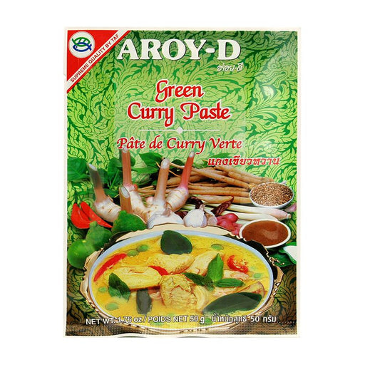 Aroy-d Green Curry Paste, 1.8 oz (50g)