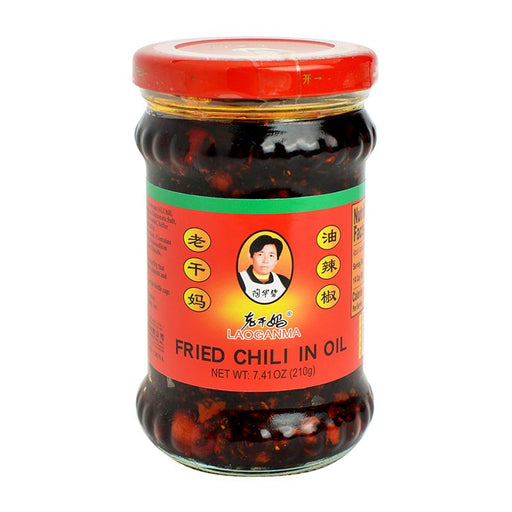 Lao Gan Ma Fried Chili in Oil, 7.4 oz (210g)