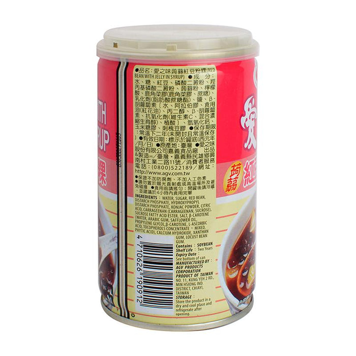 AGV Red Bean with Jelly, 12 oz (340g)