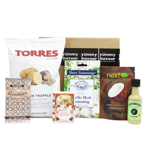 Monthly World Sampler Box - 3-Month Gift Subscription