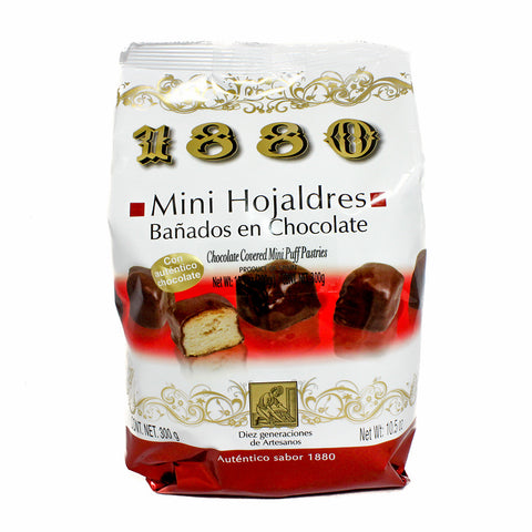 Mini Chocolate Hojaldres Puff Pastries by 1880 10.5 oz