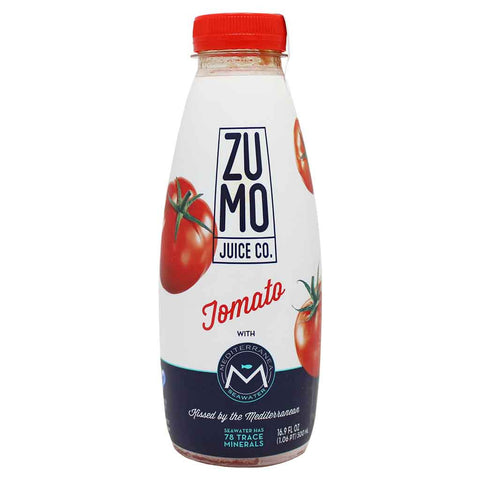 ZUMO Tomato Juice, made With Mediterranea Seawater 16.9 oz. (500 mL)