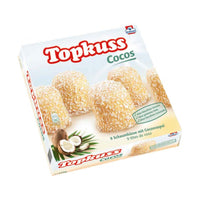 Topkuss Coconut Marshmallow 9 pcs by Grabower, 7.9 oz (224 g)